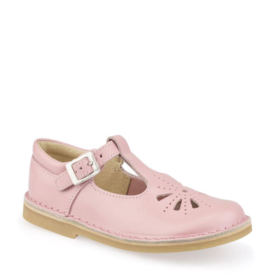 Lottie Pink Leather