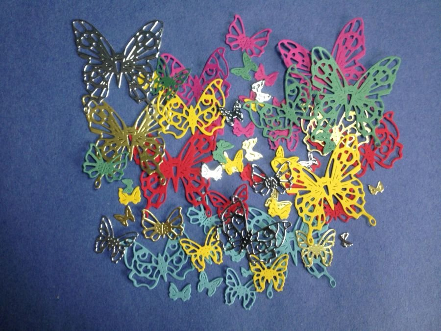 Mini Butterfly Toppers