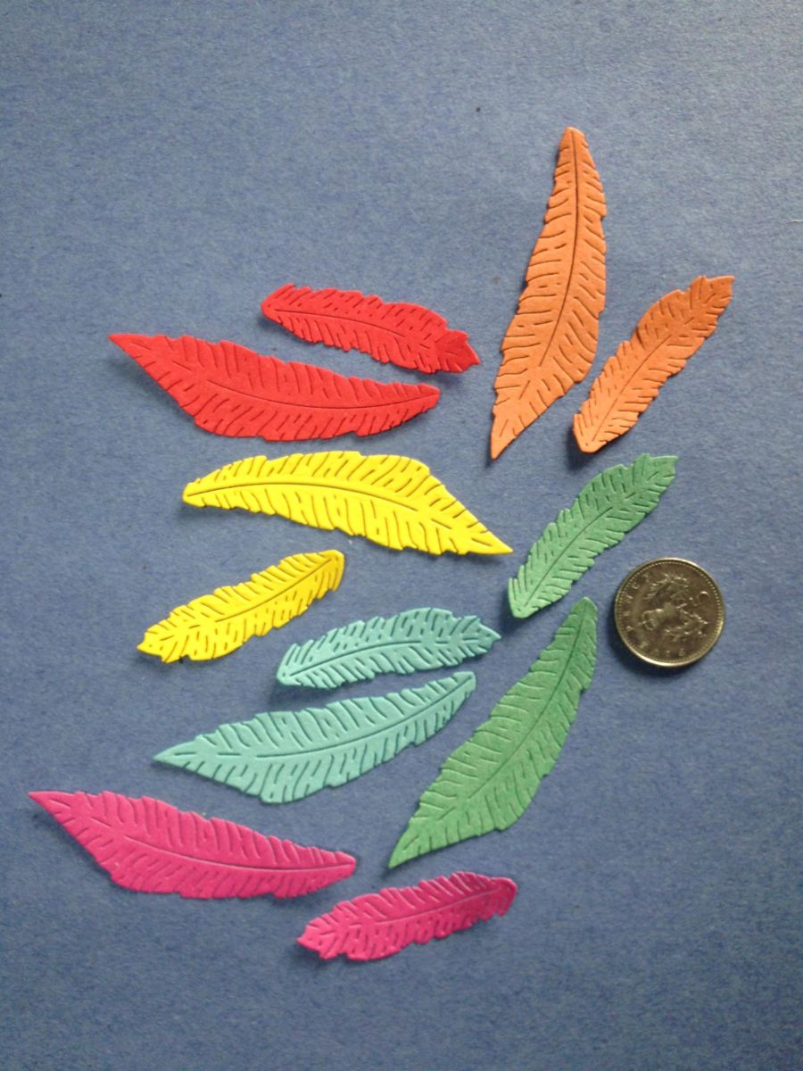 Paper Feathers Topper Pack