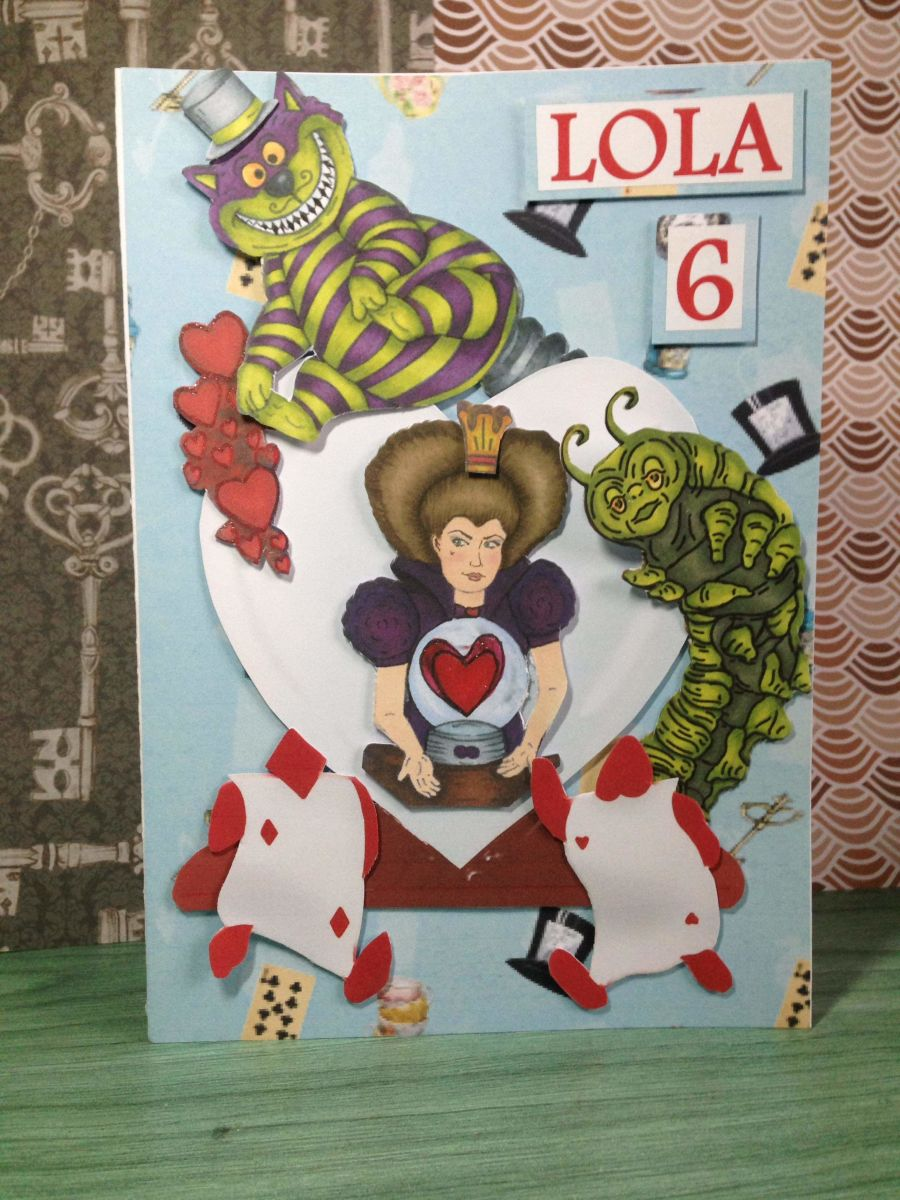 Kids Queen of Hears Greeting Card