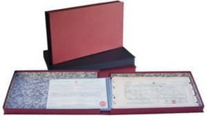 Premier Certificate Binder