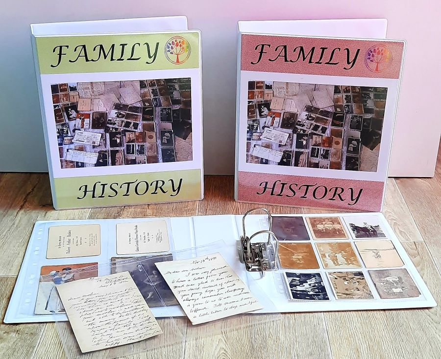 Jumbo Memorabilia Album Package