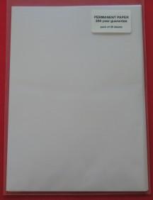 PERMANENT PAPER : A3 SIZE