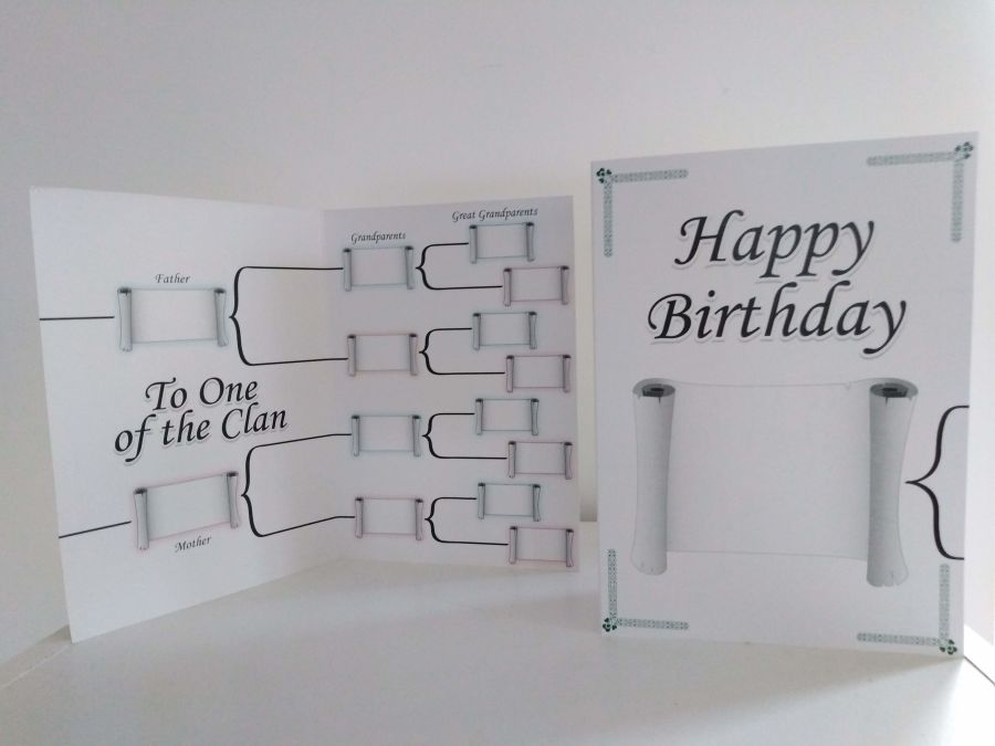 Family Tree Birthday Card IGS30