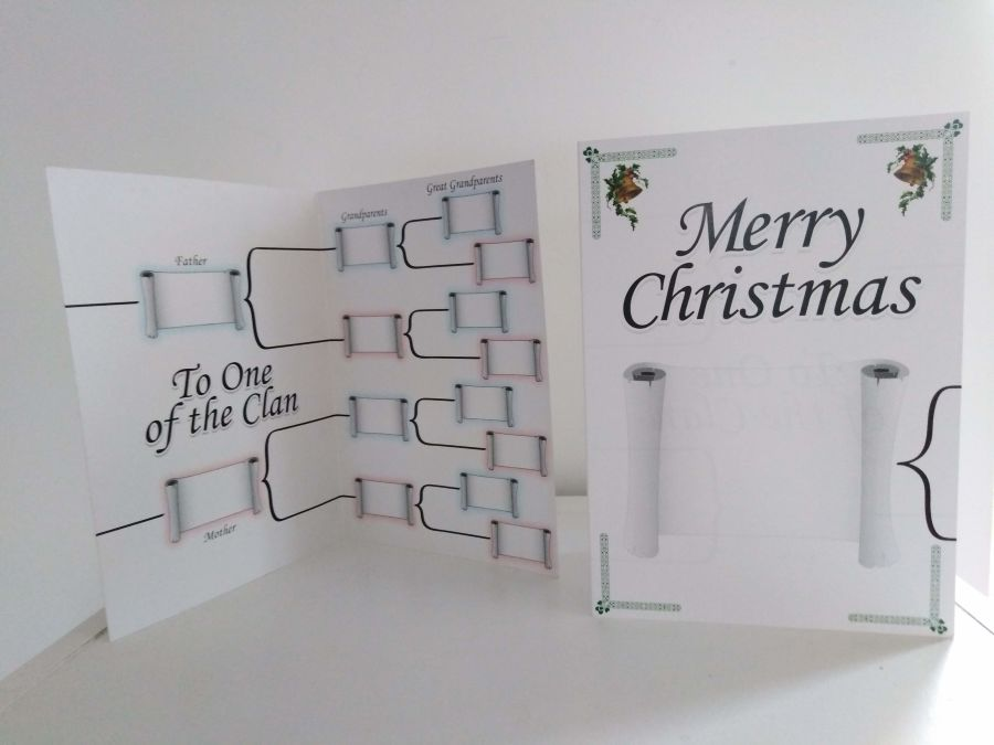 Family Tree Christmas Card IGS35