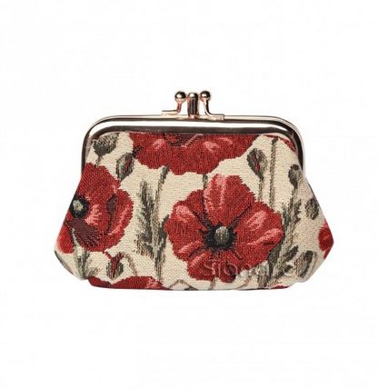 Signare Poppy Collection Frame Purse