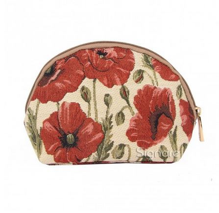 Signare Poppy Collection - Small Cosmetic Bag