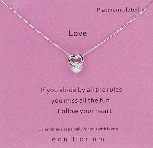 Love Equilibrium Necklace