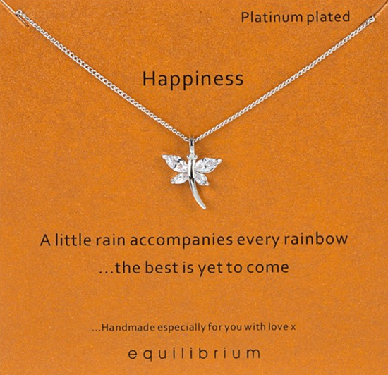 Happiness Equilibrium Necklace