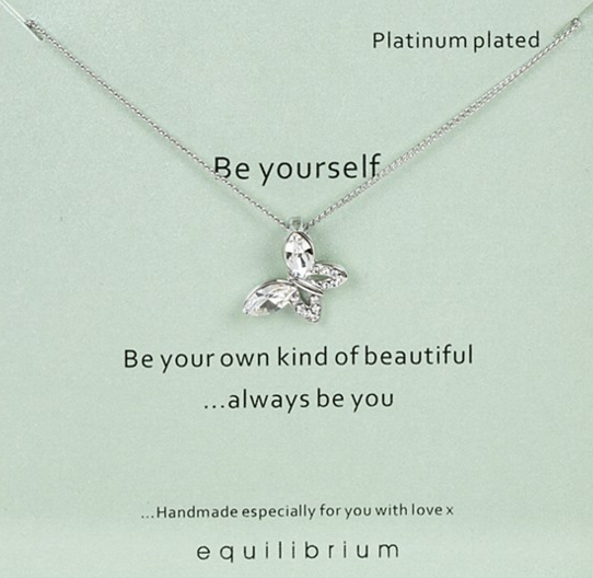 Be Yourself Equilibrium Necklace