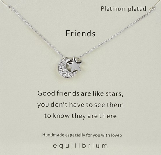 Friends Equilibrium Necklace