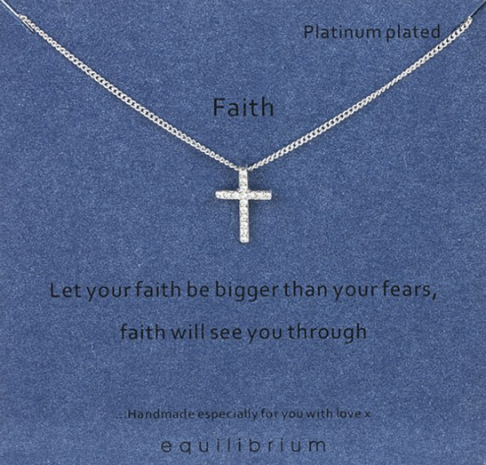 Faith Equilibrium Necklace