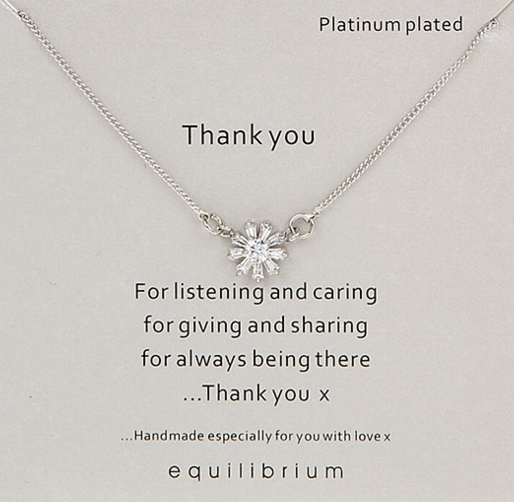 Thank You Equilibrium Necklace