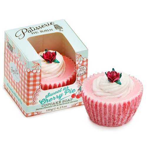 Cherry Pie Cupcake Soap