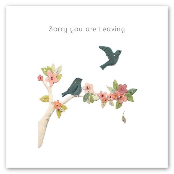 Sorry you are Leaving
