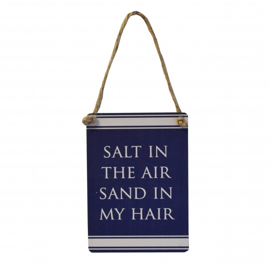 Salt in the air...