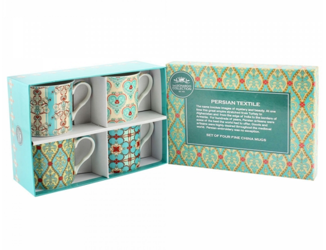 Persian Mug Set of 4