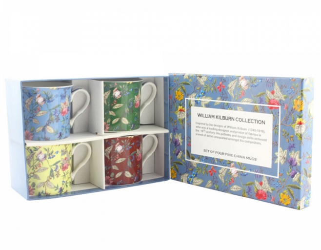 William Kilburn Mug Set of 4