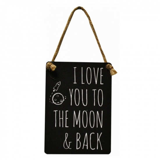 I love you to the moon....