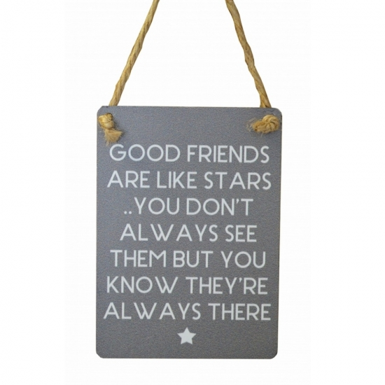 Good Friends Are Like Stars....