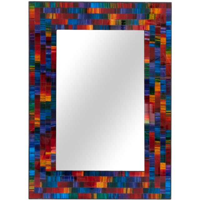 Rectangular Spectrum Mosaic Mirror