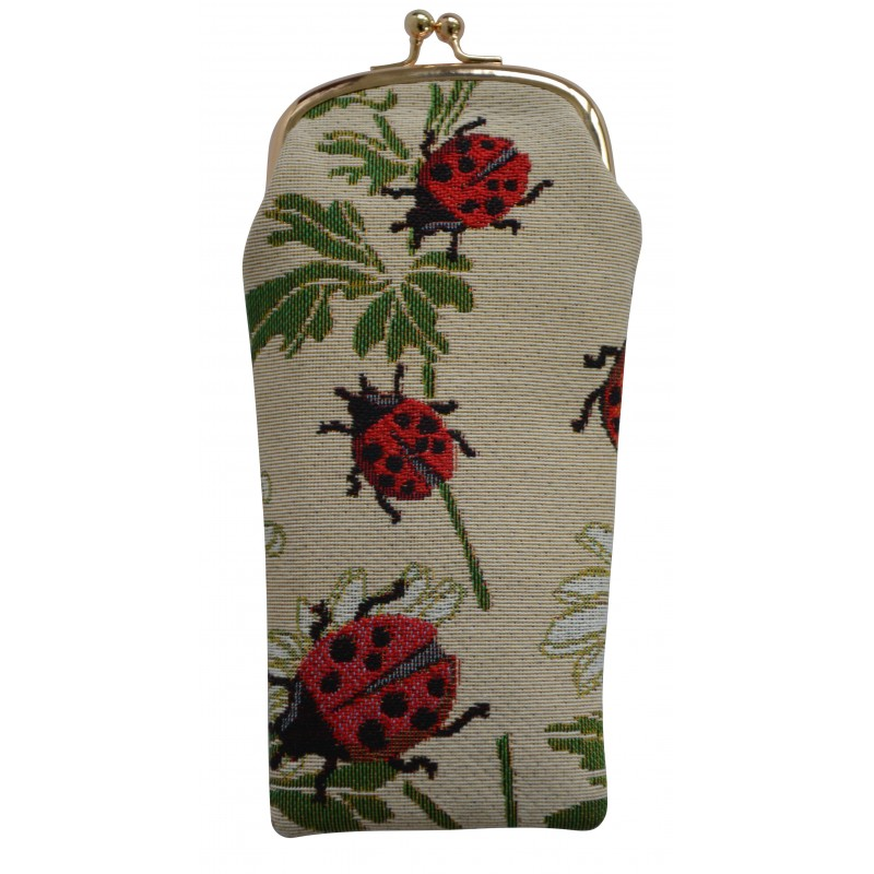 Ladybird Glasses Pouch by Signare