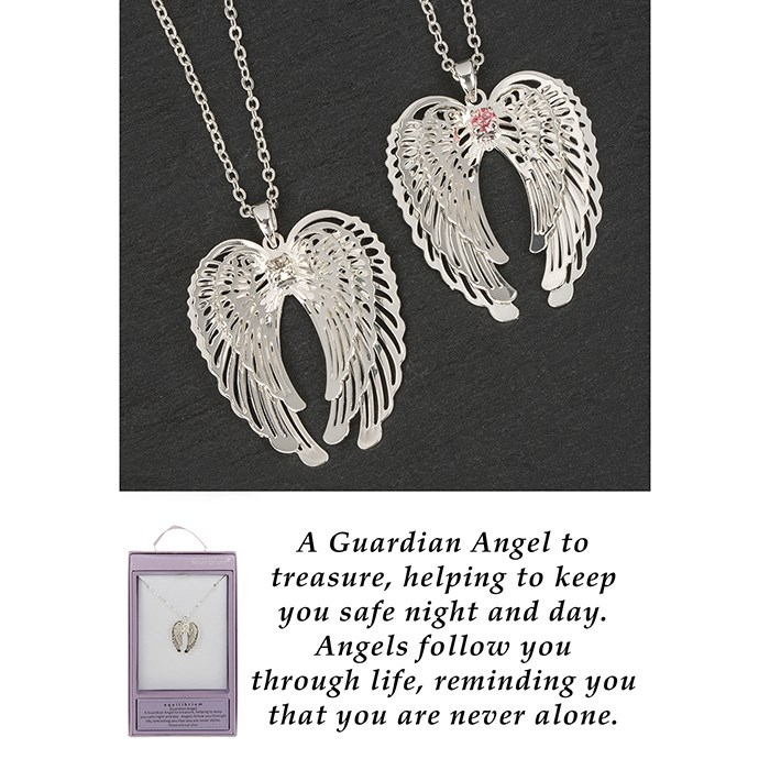 BEST SELLER Guardian Angel Wings Necklace
