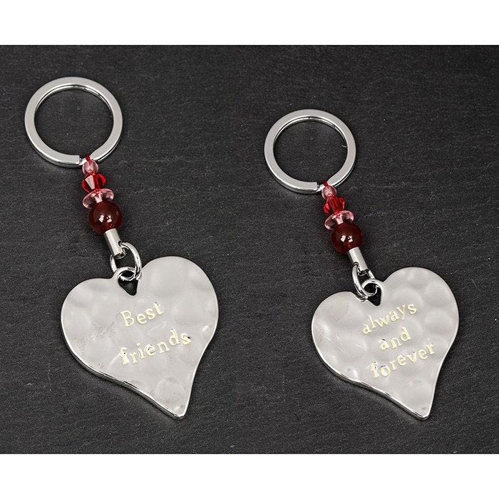 Best Friends Keyring