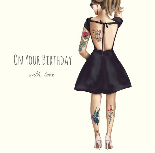 On Your Birthday With Love