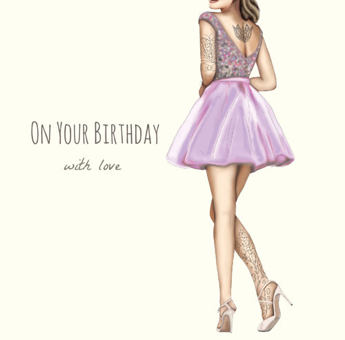 On Your Birthday With Love ( TD101 )