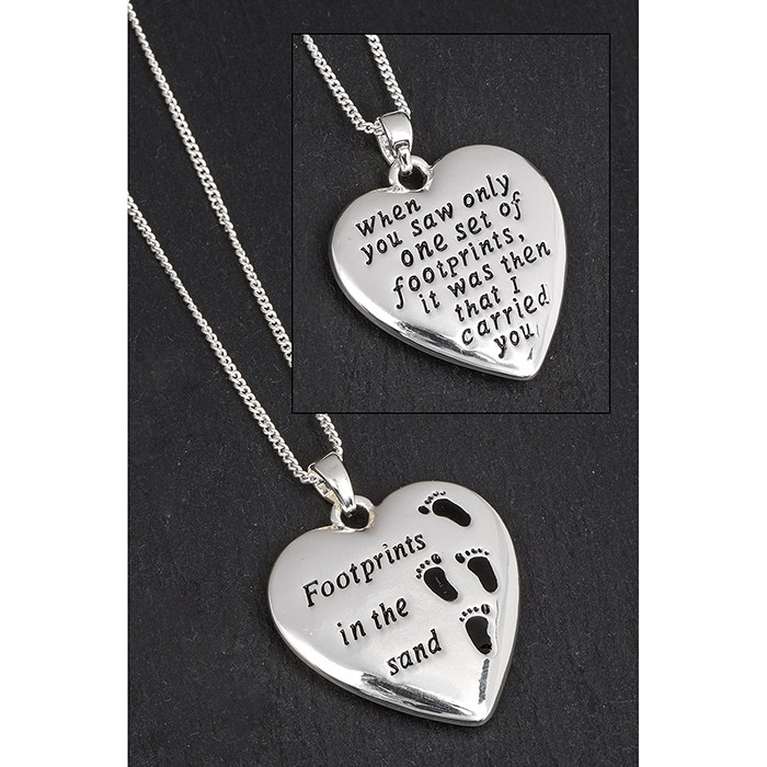 Footprints in the sand Necklace