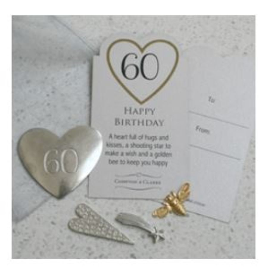 60th Birthday Charms