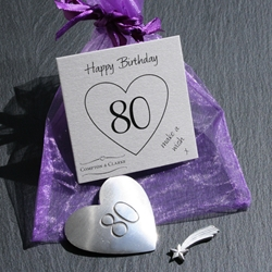 80th Birthday Charms