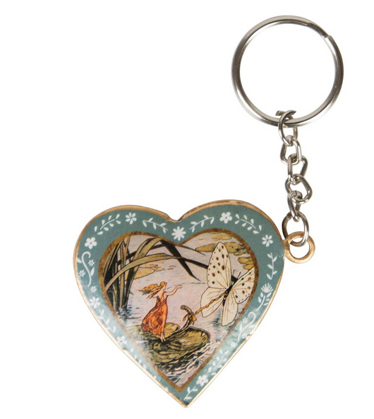 Fairies Heart Keyring