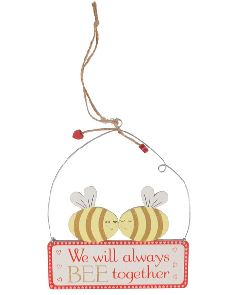BEE Together Mini Plaque