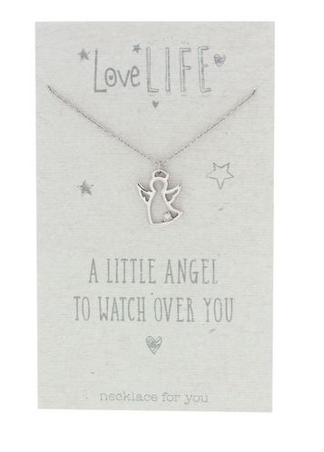 Love Life To Watch Over You Sentiment Necklace