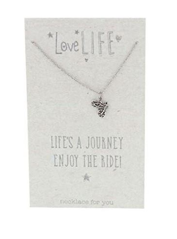 Love Life 'Life's a journey enjoy the ride' Necklace