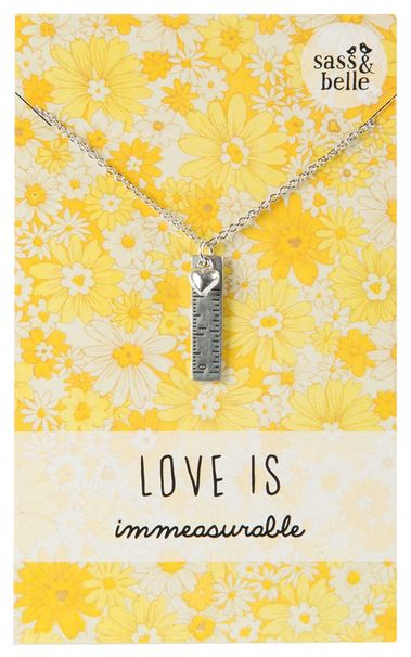 Love is Immeasurable Necklace