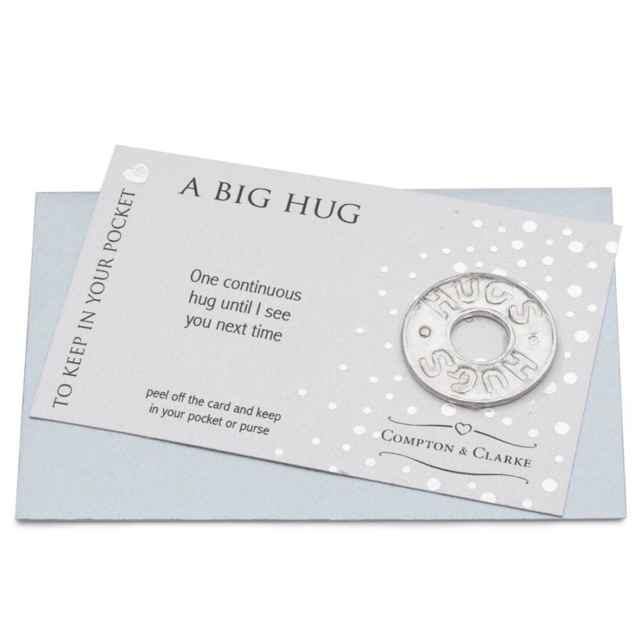 A Big Hug -  Pocket Charm