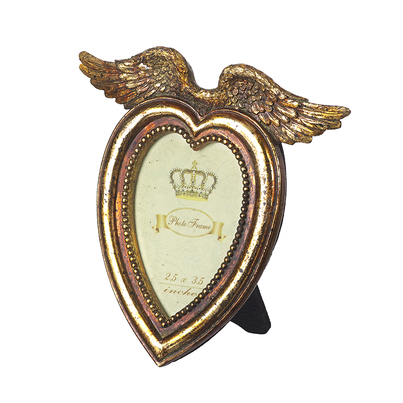 Angel Wings Heart Frame
