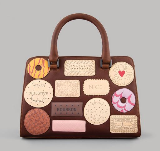 Teatime Favourites Leather Tote Bag By YOSHI