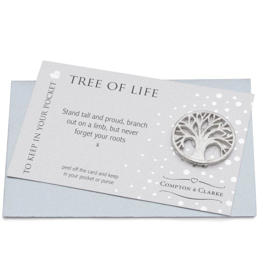 Tree Of Life Pocket Charm by Compton & Clarke