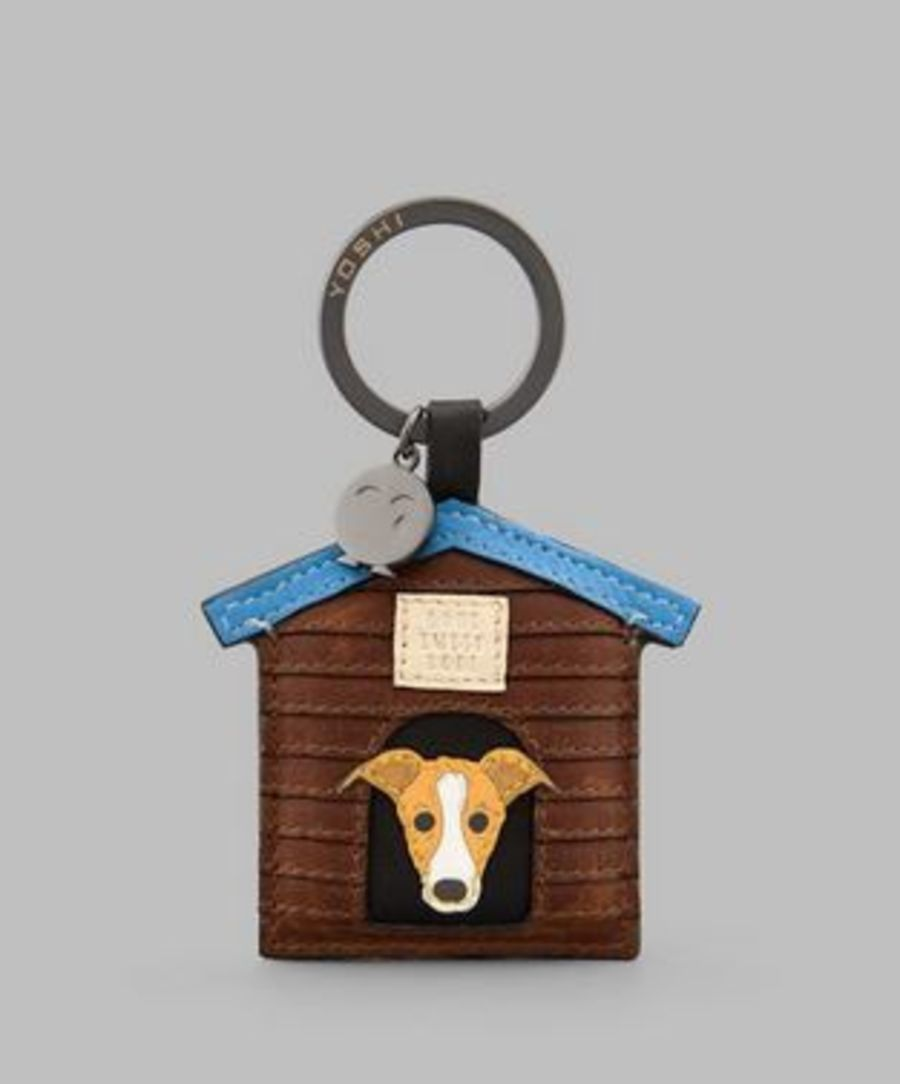 Bone Sweet Bone Black Leather Keyring Y By YOSHI