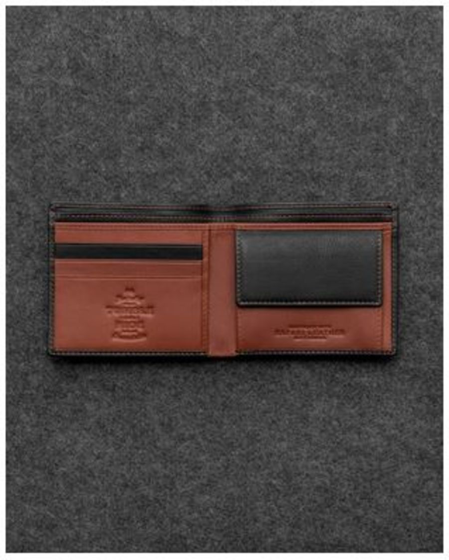Tumble & Hide Safari Leather Basal Coin Pocket Wallet