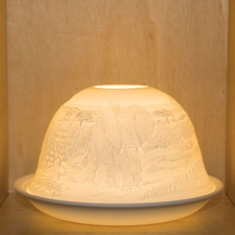 Nordic Lights Candle Shade - Elephant