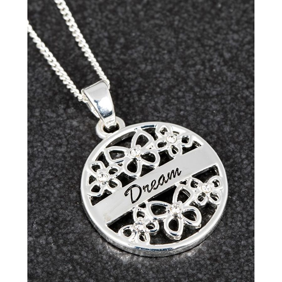 Equilibrium Filigree Butterfly Necklace Dream