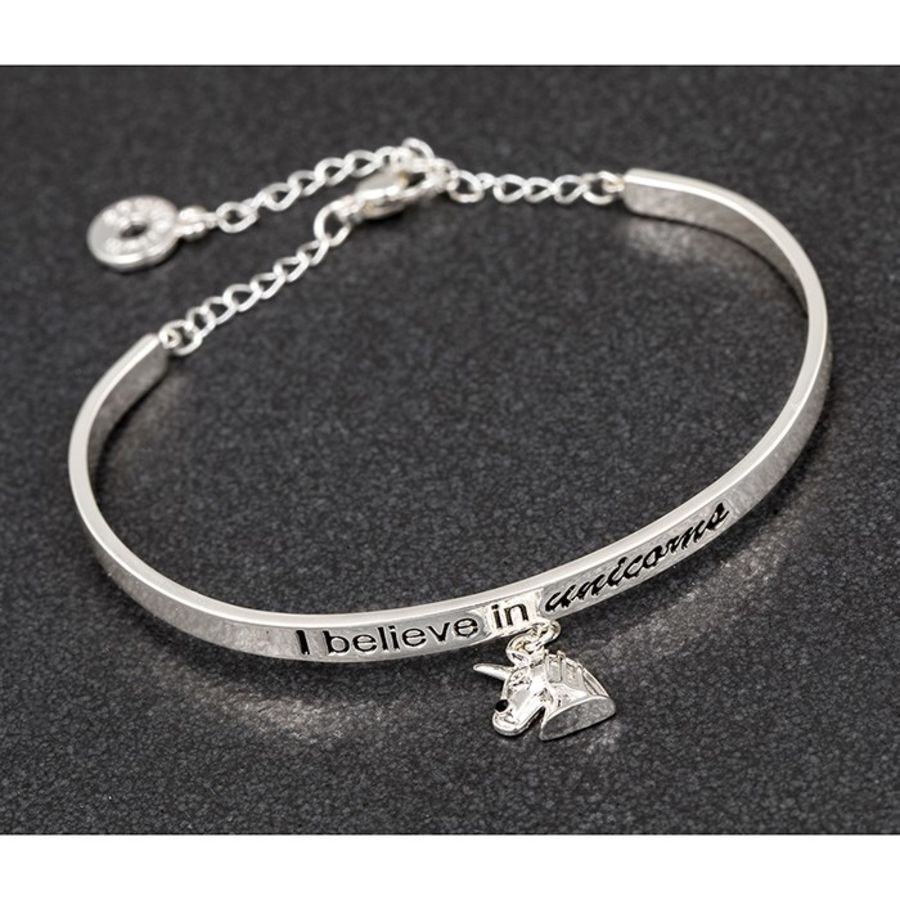 Equilibrium Charm Bangle Unicorn