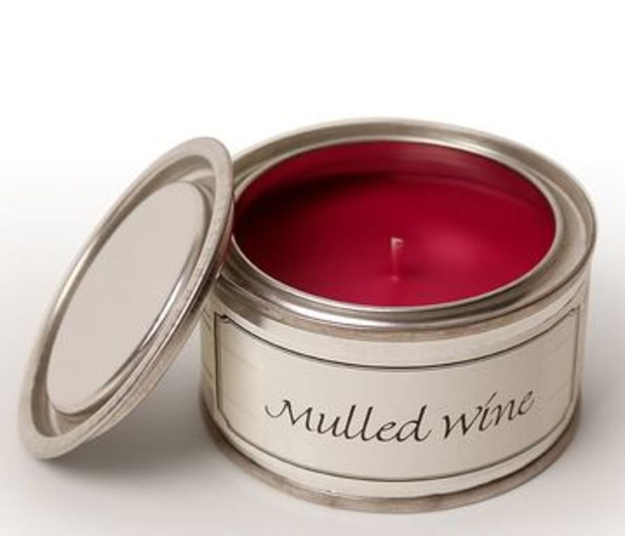 Mulled Wine Pintail Candle