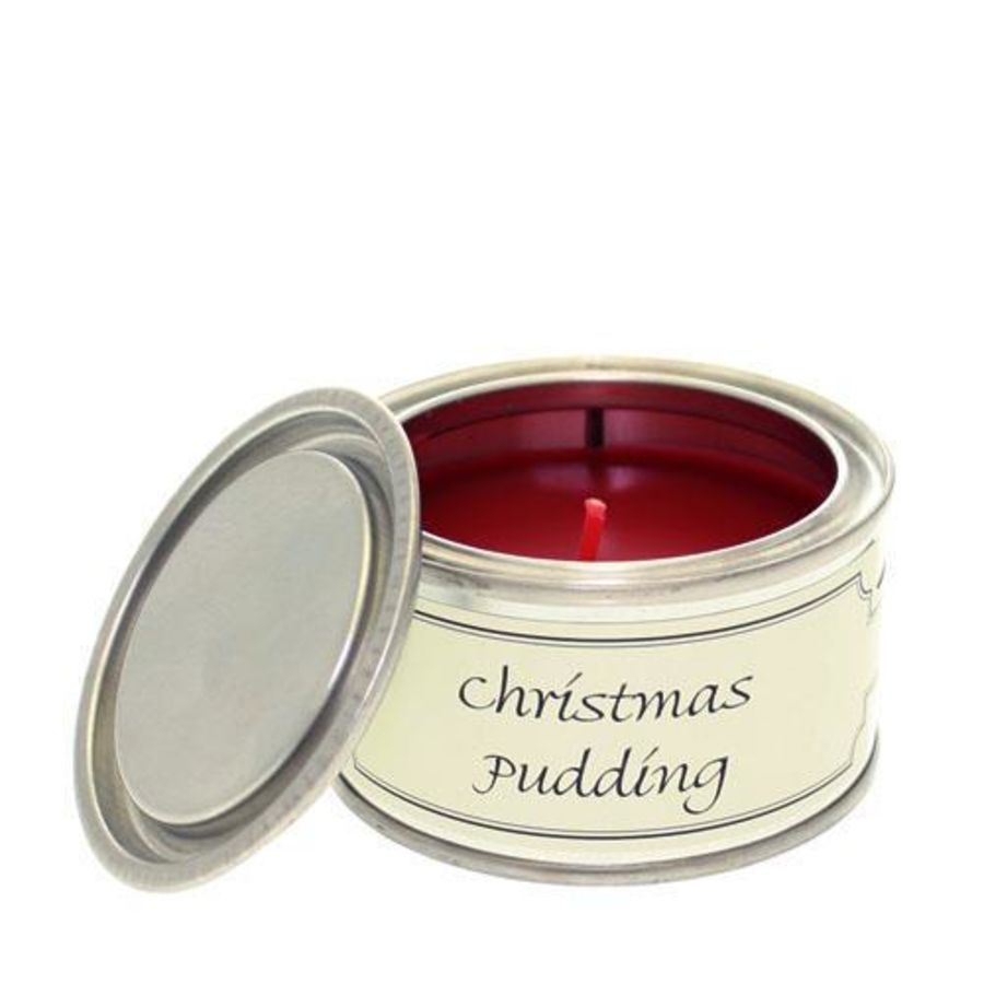 Christmas Pudding Pintail Candle