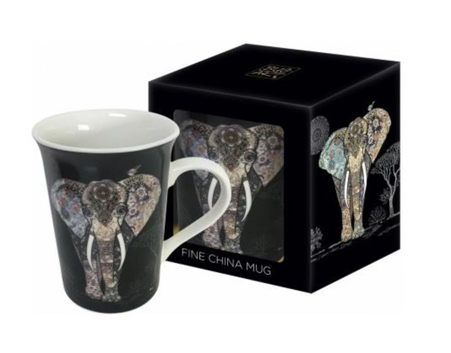 Elephant Mug by Bug Art